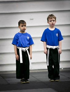 young white belts